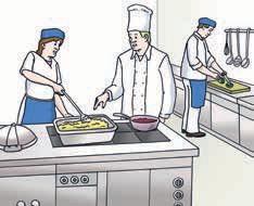 Menschen in der Küche
