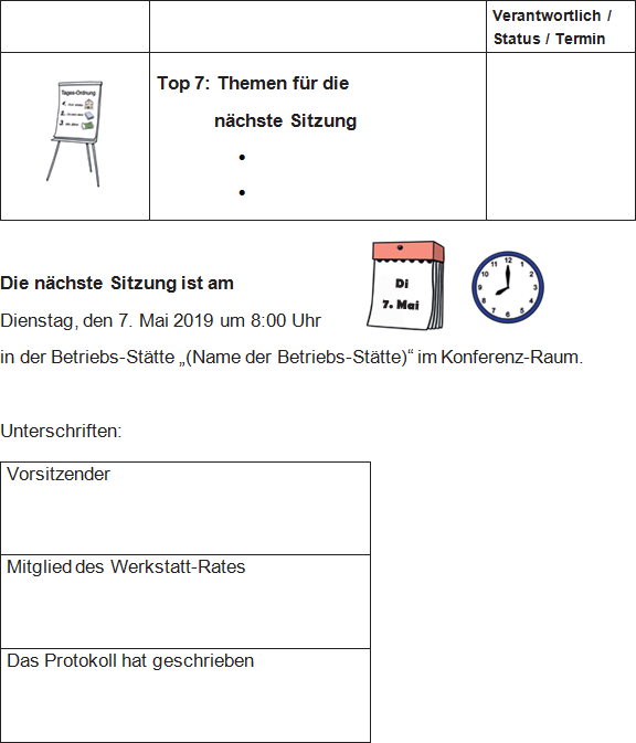 Protokoll-Vorlage 05