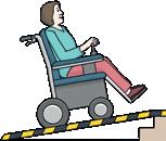Rollstuhlfahrerin